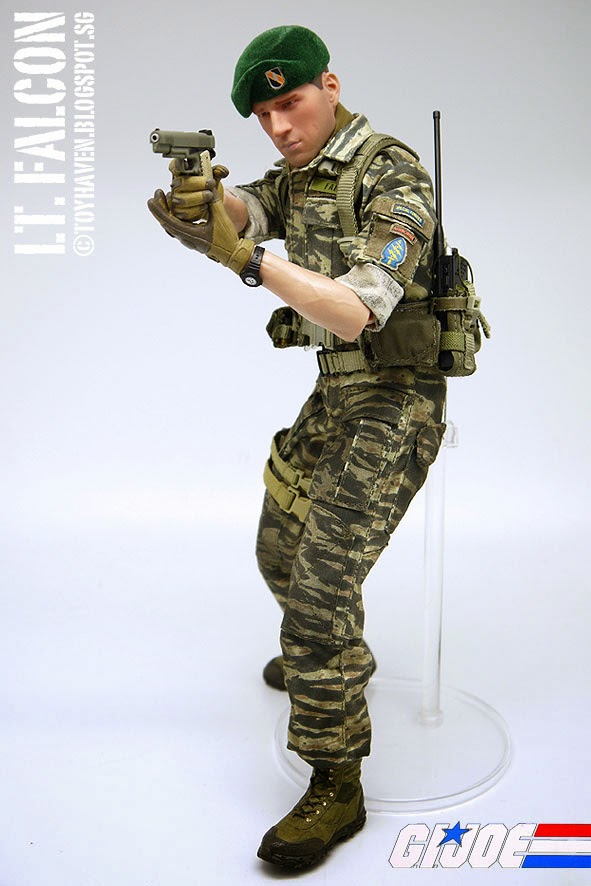 Toyhaven Sideshow Collectibles G I Joe Green Beret