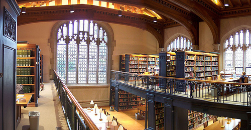 Princeton Firestone Library Trustee Reading Room
