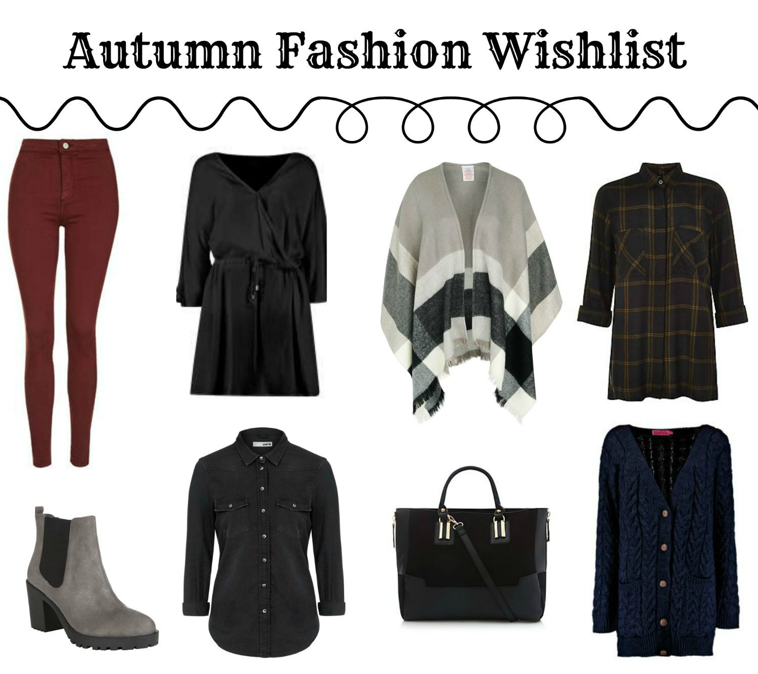 Autumn Fashion Wishlist 2015