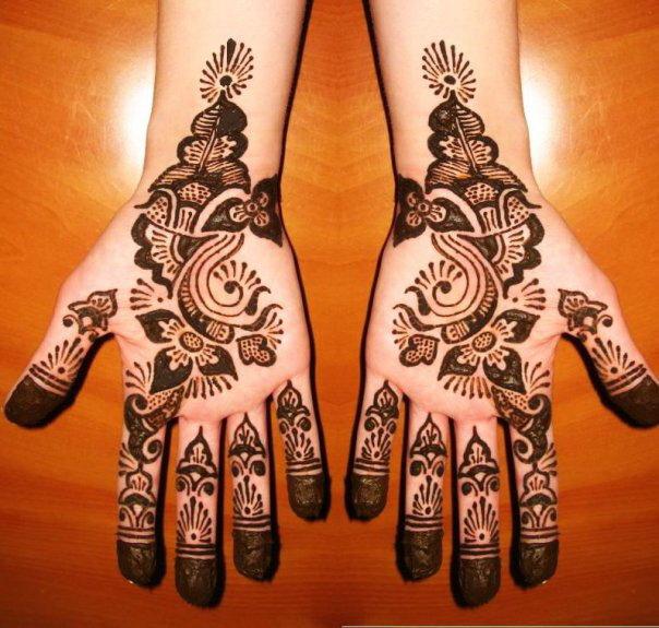 Latest mehadi design wedding mehandi patterns desings for Arabic decoration style