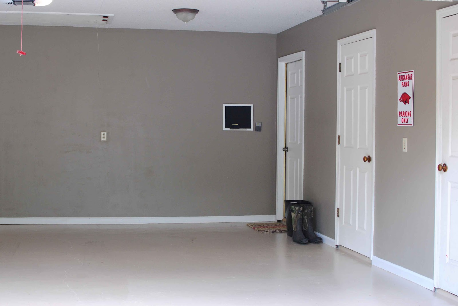 grease a garage i am happy to come home to. Black Bedroom Furniture Sets. Home Design Ideas