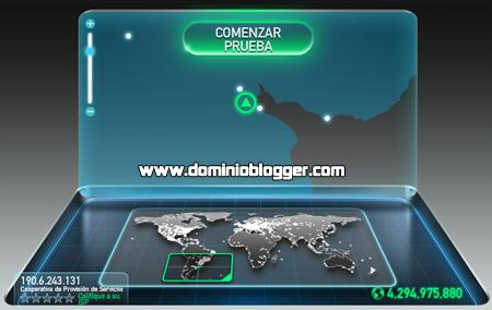Mide la velocidad de tu internet con Speed Test