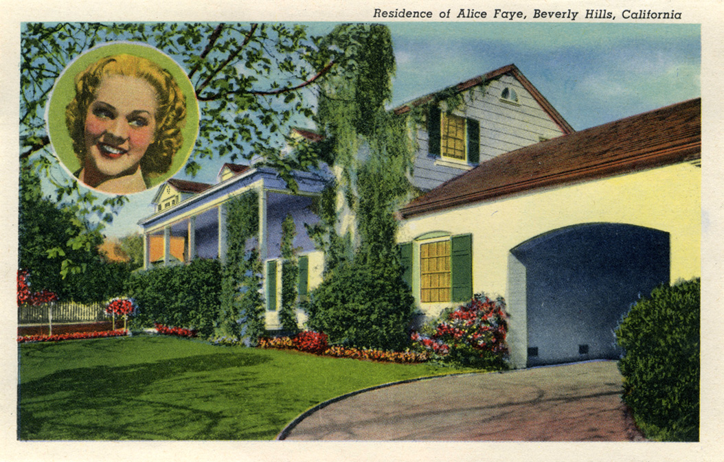 Time machine to the twenties homes of the stars part 5 for Movie star homes beverly hills