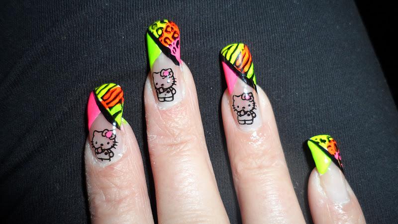 Nicky\'S Nails\'N Stuff: *****NEON KOTD****
