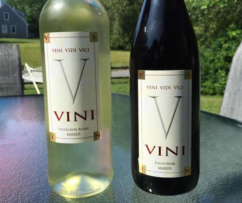 VINI Sauvignon Blanc 2013 & VINI Pinot Noir 2013