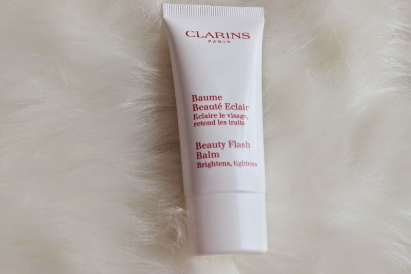 clarins beauty flash balm how to use