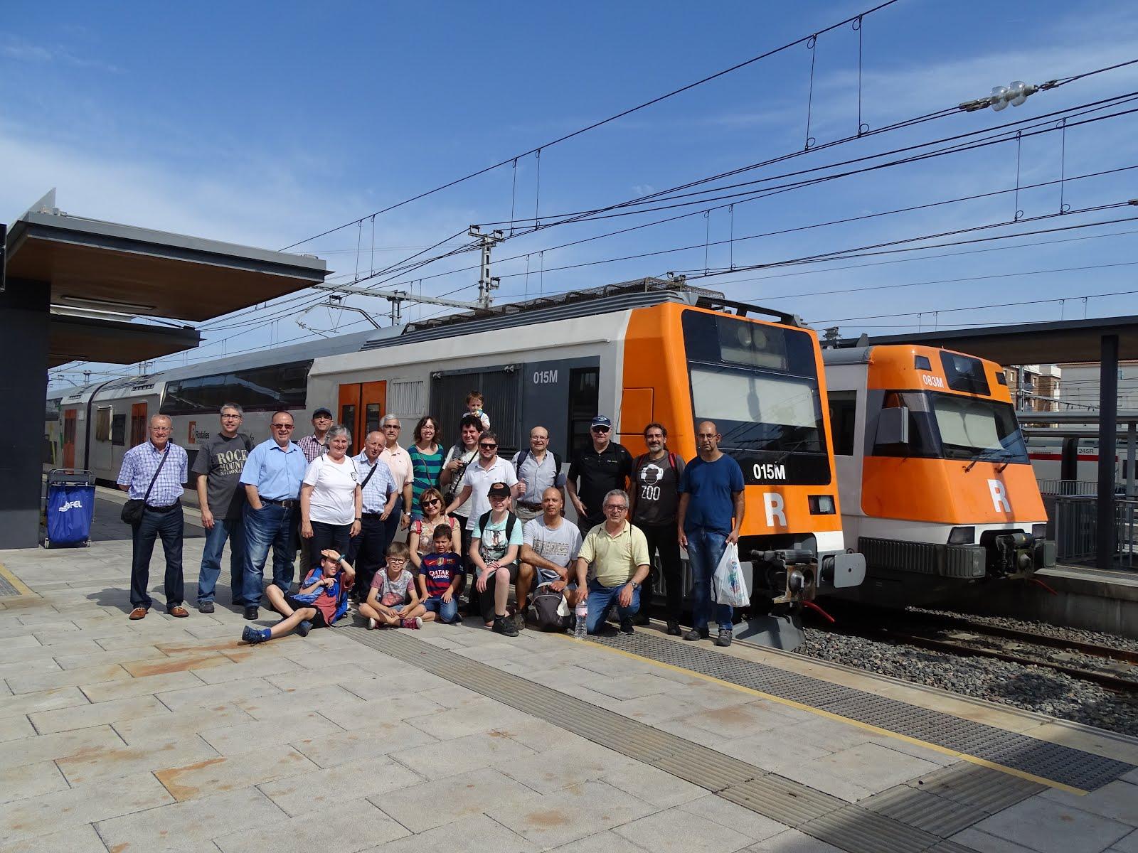 Visita al Barri Ferroviari de Sant Vicenç de Calders
