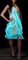 светящиеся платье