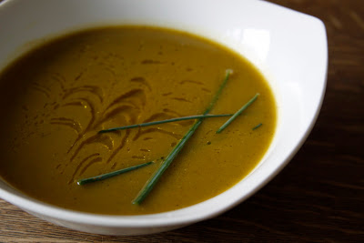 Recipe Vegan Split Pea Sunshine and Saffron Soup