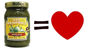 i love mrs renfros green jalapeno salsa