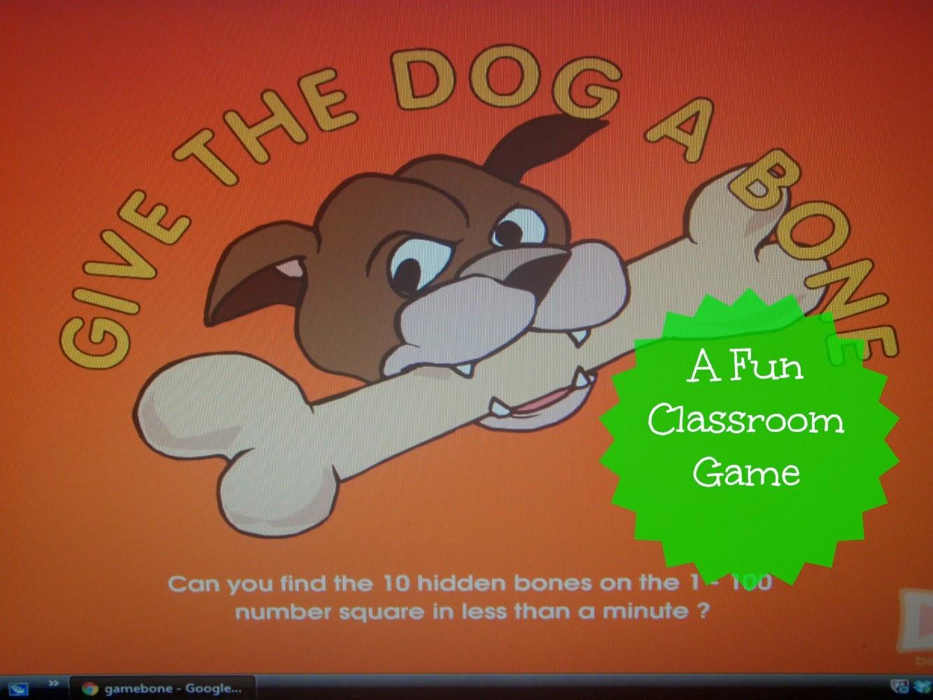Give The Dog A Bone Board Game