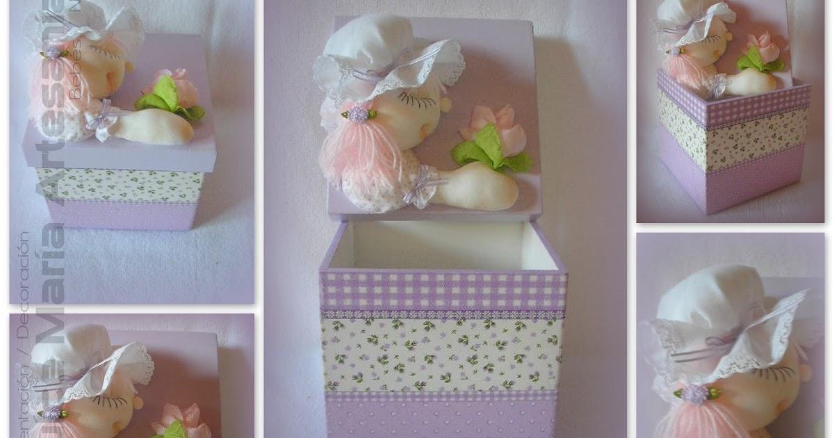 Dulce mar a artesan as caja con mu eca for Decoracion hogar neuquen