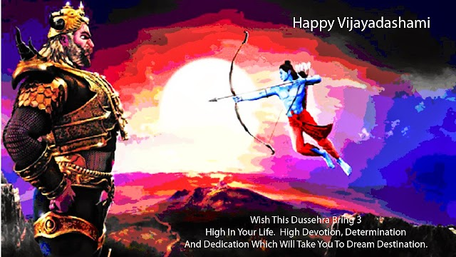 Wish This Dussehra Bring3 Highin your Life Happy Dasara Greetings