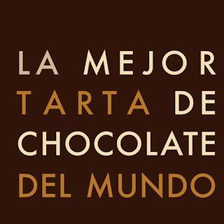 """tarta La mejor tarta de chocolate del mundo """"deconstruida"""" y Noticias!!!"""