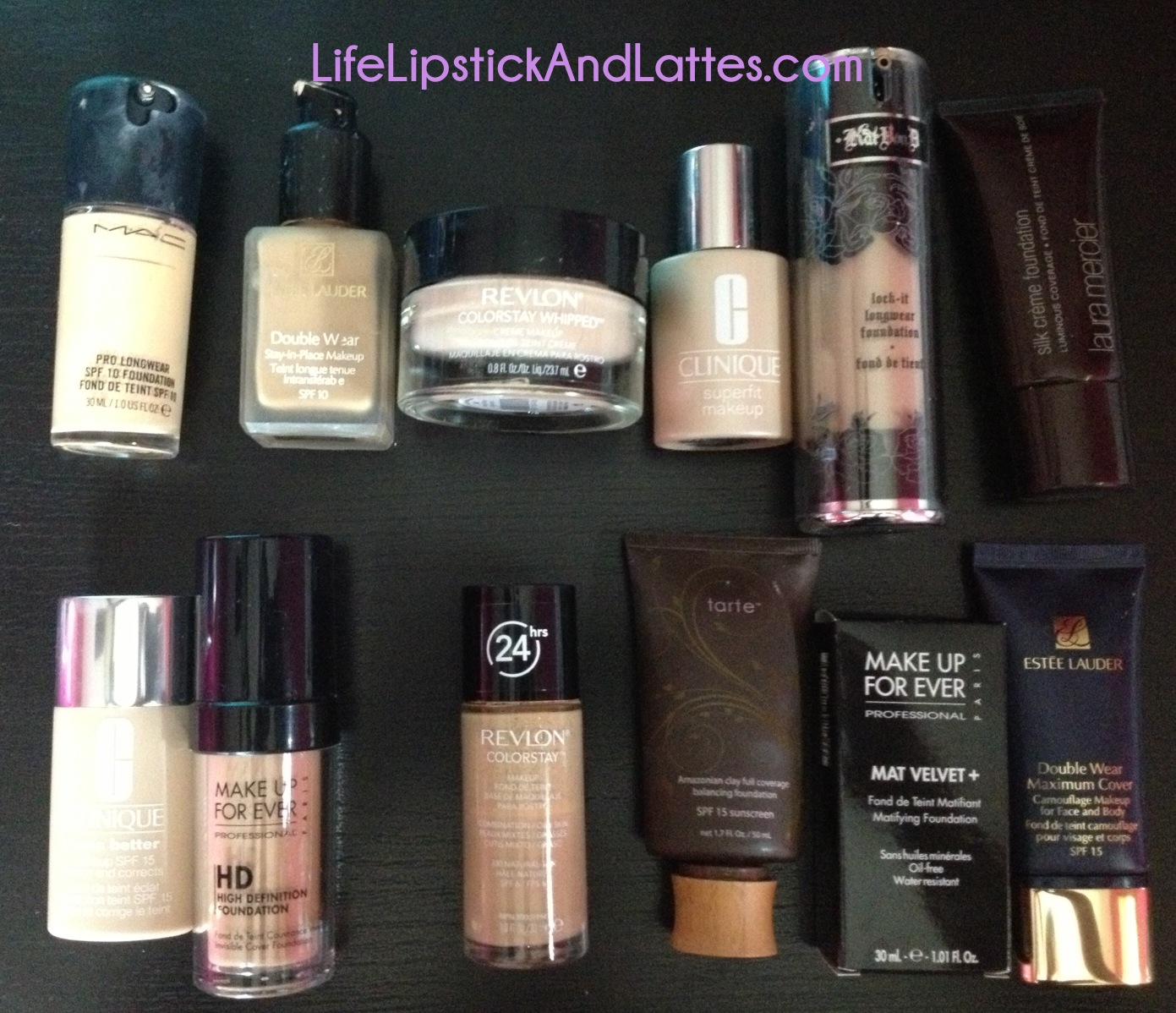 Célèbre Life, Lipstick and Lattes: Foundation Collection with Swatches  TS66