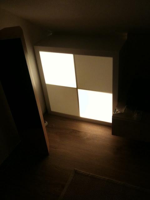 Expedit 4x4 mood light