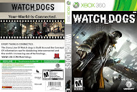 Capa Watch Dogs XBOX 360