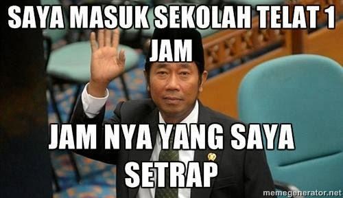 dp bbm atau meme komik lucu .#SaveHajiLulung.