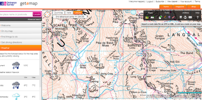 Ordnance Survey New Get-a-Map