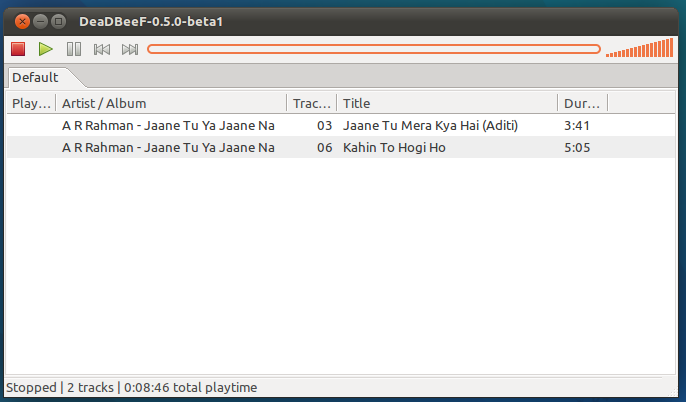 Linux Music Library Software