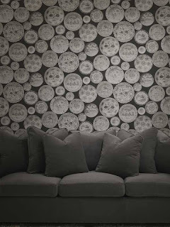 Interior Decorator Taupe Wallpaper