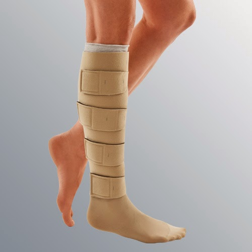 Compression Garments for injured leg