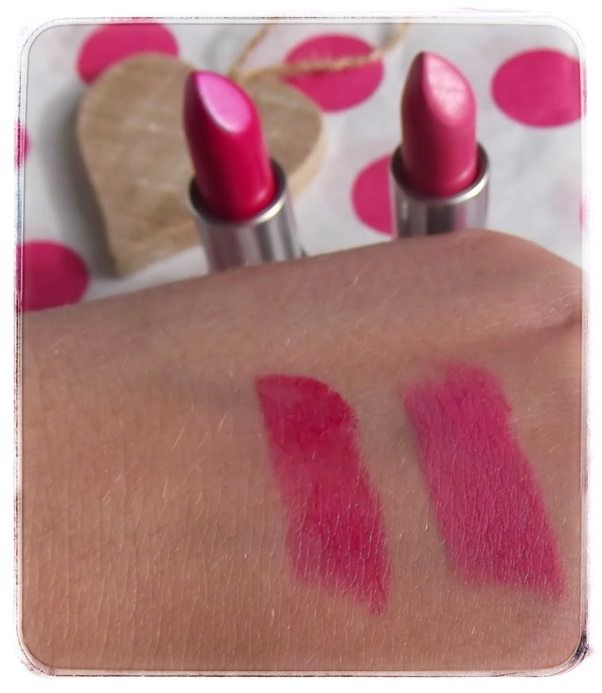 MAC Show Orchid Pink Nouveau Lipstick Cohorted review swatch