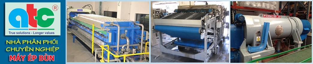 Máy ép bùn nước thải | Công ty TNHH kỹ thuật ATC