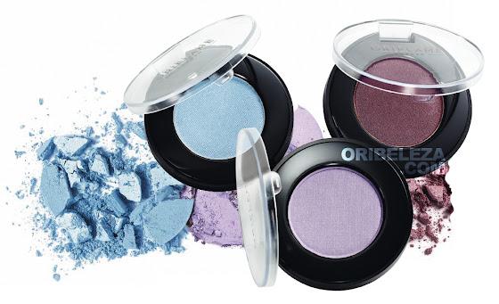 3 novos tons das Sombras de Olhos Pure Colour da Oriflame