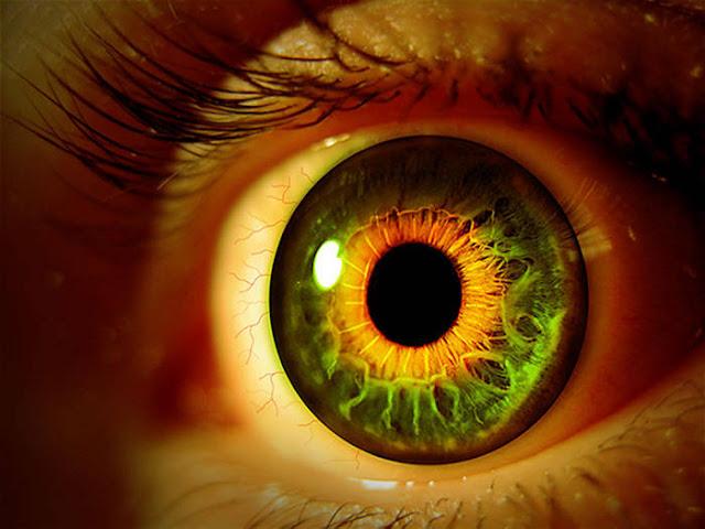 Cara Memanipulasi Mata Agar Terlihat Seram