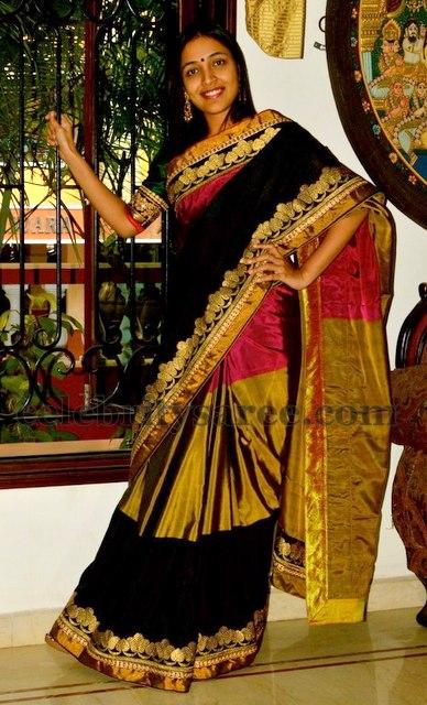 Trendy Bridal Silk Saree