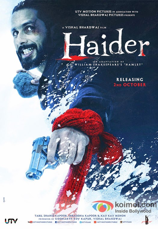 Haider (2014) Mp3 Songs - Free Download Bollywood Movie Songs.