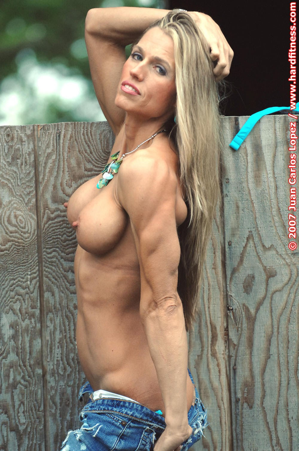 Blonde Muscle Milf