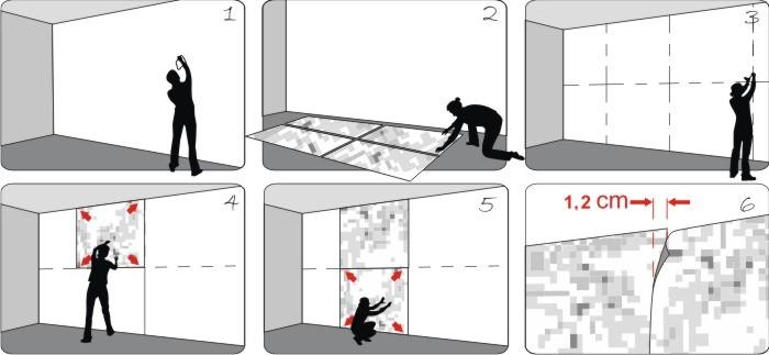 wall sticker superman: cara memasang wall sticker