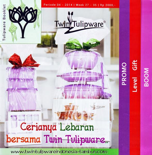 Booklet - Katalog Twin Tulipware Juli - Agustus 2014