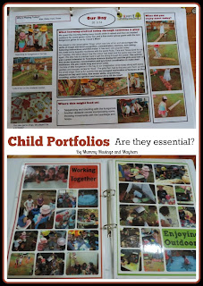 Child portfolios in early childhood settings...are they necessary? 15 Questions to ask first! Find out more at Mummy Musings and Mayhem.com