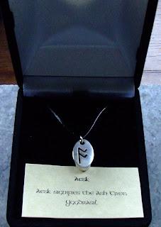 Aesk Rune Pendant