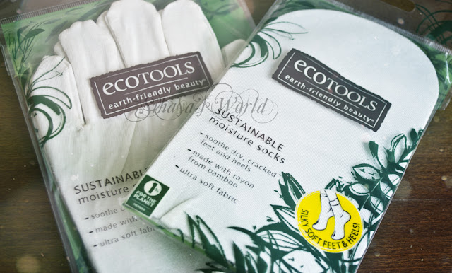Eco Tools Sustainable Moisture Gloves and Sustainable Moisture Socks