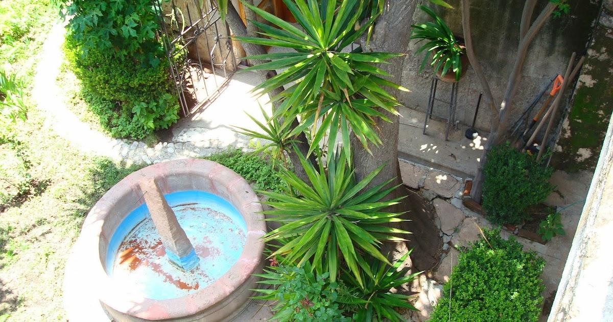 Sancarlosfortin fuente reloj natural en jardin del for Jardin del convento