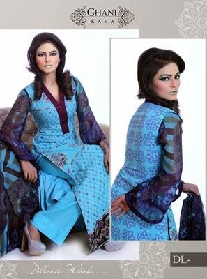 Ghani Textile Lawn 2014