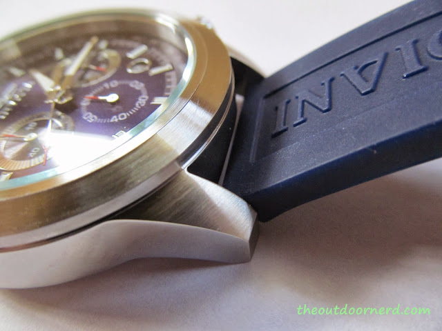 Invicta Men's 15200 Specialty Chronograph Watch - Closeup Of Bezel