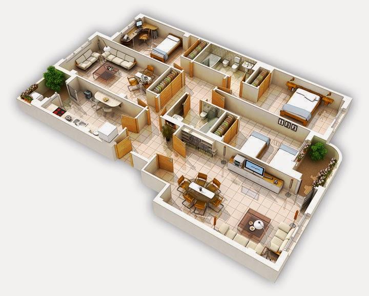 Rosainfloriani planos con sketchup for Programa para planos de viviendas
