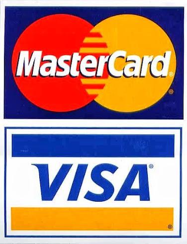 aceitamos cartão de crédito