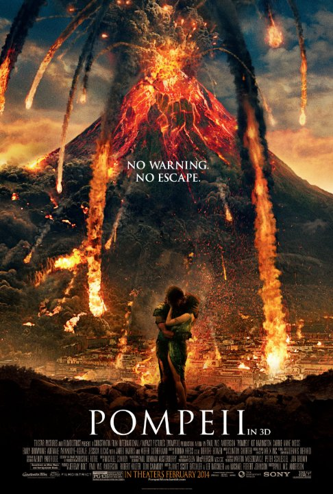 Pompeii Movie Film 2014 Sinopsis