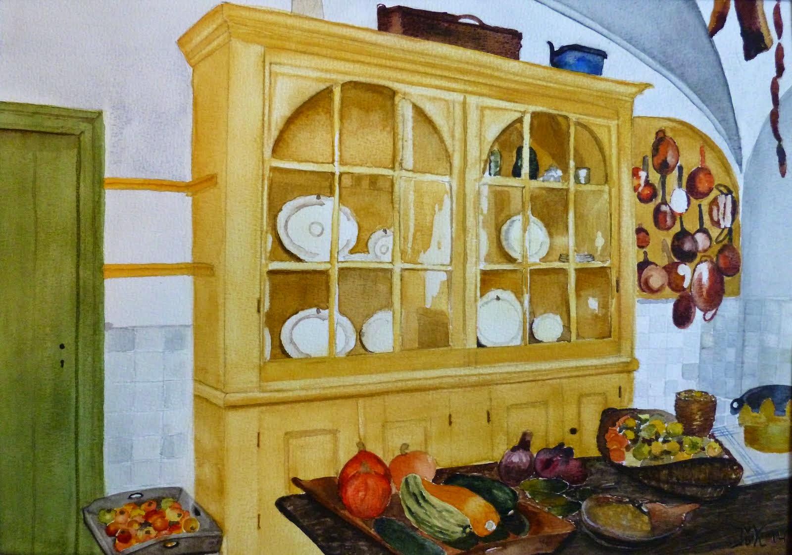 Een kijkje in de keuken van Kasteel Amerongen