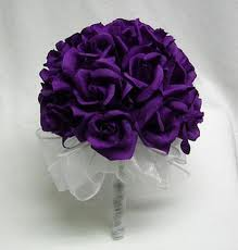 Buket Bunga Mawar Ungu Buket Bunga Mawar Ungu