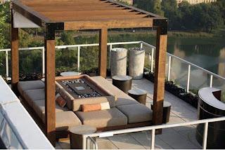 Modern Outdoor Living Room Design Ideas