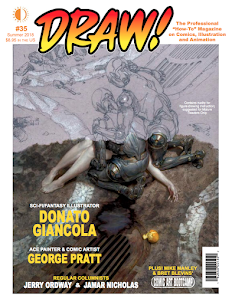 DRAW! Magazine NO.35 ON SALE NOW!
