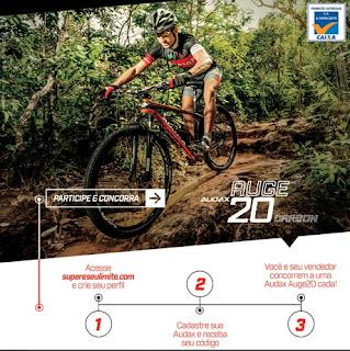 Participar promoção Bicicletas Audax