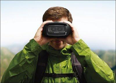 Binoculares para grabar videos 3D